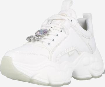 Sneaker low 'BINARY ICE' de la BUFFALO pe alb