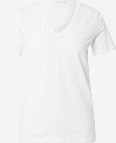 BOSS Casual T-shirt en blanc, Vue avec produit