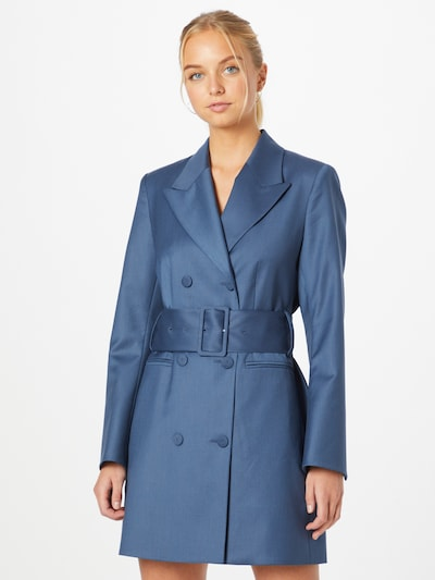 Rochie tip bluză IVY & OAK pe albastru aqua, Vizualizare model
