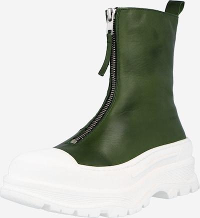 Bianco Členkové čižmy - zelená / biela, Produkt