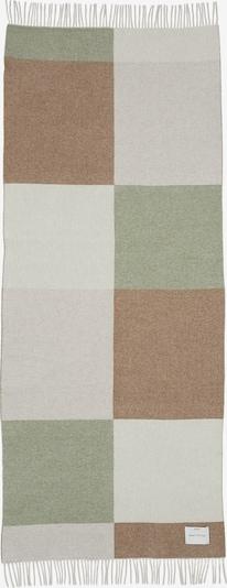 Marc O'Polo Schal in beige / braun / grau / oliv, Produktansicht