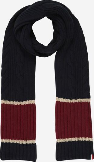 TOMMY HILFIGER Sjaal in de kleur Blauw / Rood, Productweergave