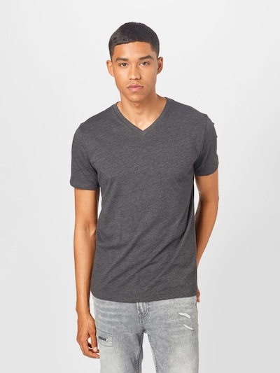 GAP Тениска в тъмносиво: Изглед отпред