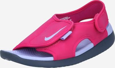 Atviri batai 'SUNRAY ADJUST 5' iš Nike Sportswear , spalva - rožinė / balta, Prekių apžvalga