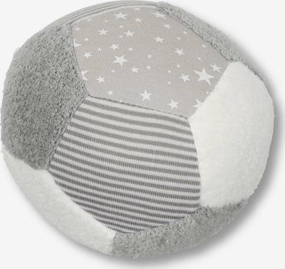STERNTALER Ball in grau / weiß, Produktansicht