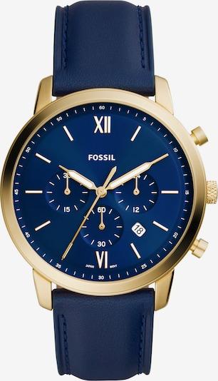 FOSSIL Analogové hodinky - námořnická modř / zlatá, Produkt