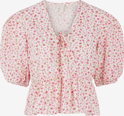 Y.A.S Bluse 'Munla' in mischfarben / weiß, Produktansicht