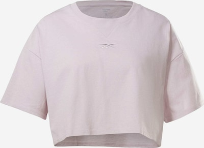 REEBOK T-shirt fonctionnel 'Studio' en lilas, Vue avec produit
