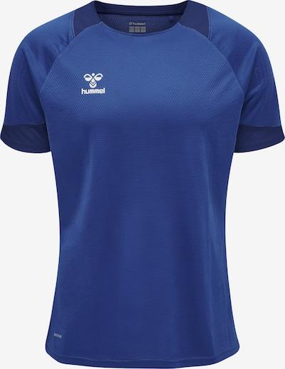 Hummel T-Shirt fonctionnel en bleu cobalt / blanc, Vue avec produit