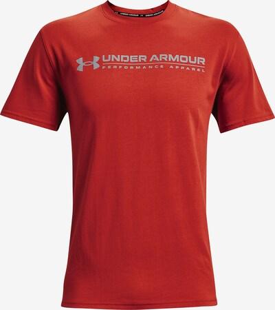 UNDER ARMOUR Functioneel shirt in de kleur Lichtgrijs / Rood, Productweergave