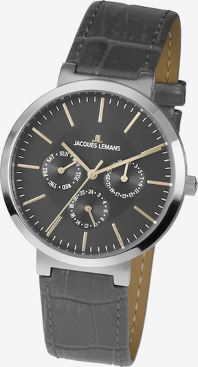 Jacques Lemans Uhr in grau / silber, Produktansicht