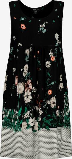 Ulla Popken Kleid in mischfarben / schwarz / weiß, Produktansicht