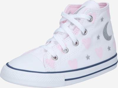 CONVERSE Sneaker 'CTAS' in hellpink / silber / weiß, Produktansicht