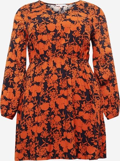 ABOUT YOU Curvy Kleid 'Miriam' in navy / orange, Produktansicht