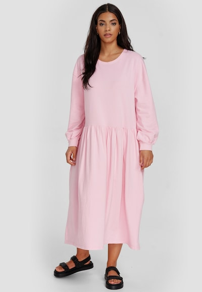Cotton Candy Maxikleid in pink, Modelansicht