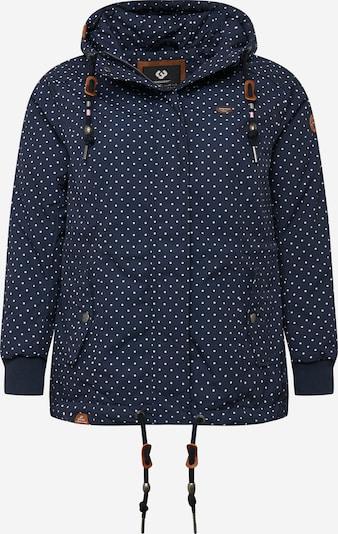 Demisezoninė striukė 'Danka' iš Ragwear Plus , spalva - tamsiai mėlyna / balta, Prekių apžvalga