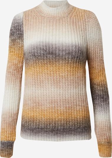 Neo Noir Pullover 'Aria' in grau / orange / weiß, Produktansicht
