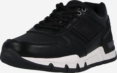 TOM TAILOR Zemie brīvā laika apavi, krāsa - melns, Preces skats