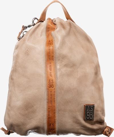 A.S.98 Rucksack in beige, Produktansicht