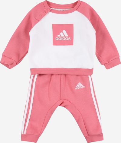 ADIDAS PERFORMANCE Trainingsanzug in rosé / weiß, Produktansicht