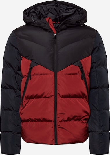 BLEND Winter Jacket in Navy / Night blue / Red, Item view