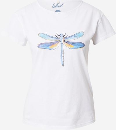 kék / lila / narancs / fehér bleed clothing Póló 'Lakefly', Termék nézet