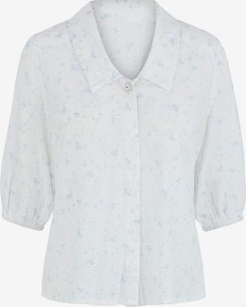PIECES Bluse in Weiß
