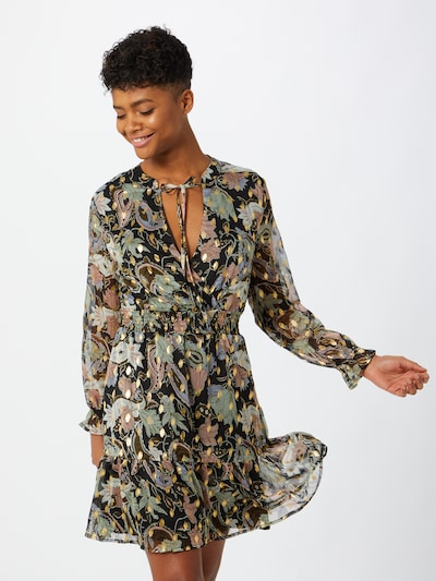 ONLY Kleid 'Sasha' in mischfarben / schwarz, Modelansicht