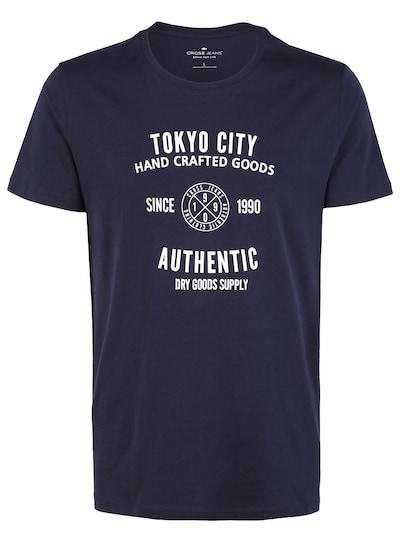 Cross Jeans T-Shirts (kurzarm) ' 15567 ' in dunkelblau / weiß, Produktansicht