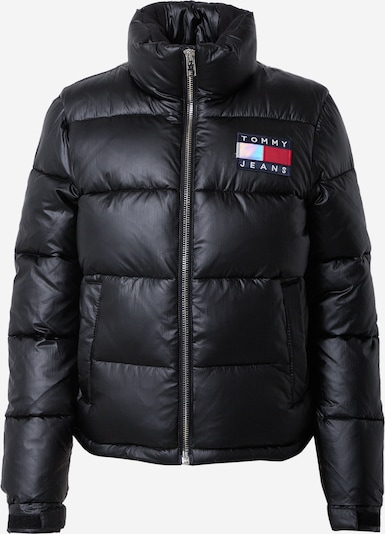 Tommy Jeans Jacke in schwarz: Frontalansicht