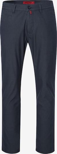 PIERRE CARDIN Chino 'Lyon' in de kleur Donkerblauw / Grijs gemêleerd, Productweergave