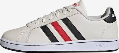 ADIDAS PERFORMANCE Sneaker 'Grand Court' in rot / schwarz / offwhite, Produktansicht