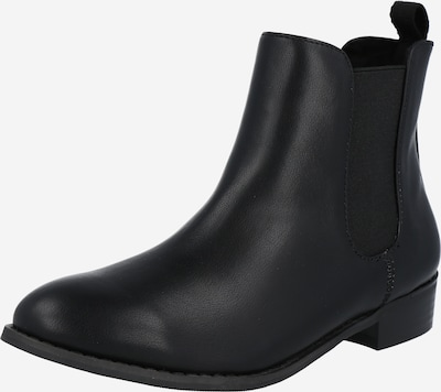 Bianco Chelsea Boots en noir, Vue avec produit