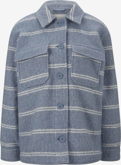 TOM TAILOR DENIM Between-Season Jacket in Dusty blue / White, Item view