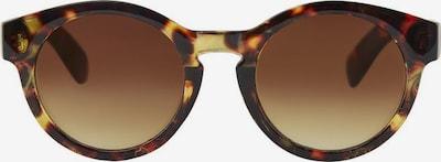 PIECES Okulary przeciwsłoneczne w kolorze jasnobrązowy / czarnym, Podgląd produktu