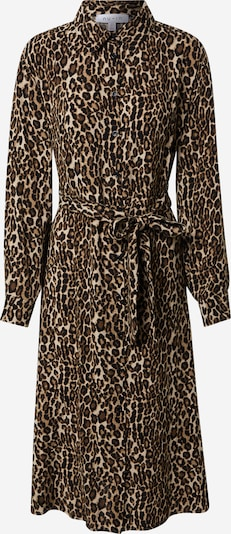 NU-IN Robe-chemise en marron / noir, Vue avec produit