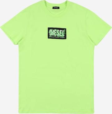 DIESEL Särk, värv roheline