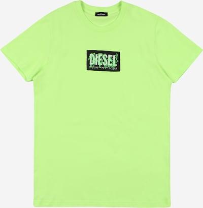 DIESEL Majica | neonsko zelena barva: Frontalni pogled