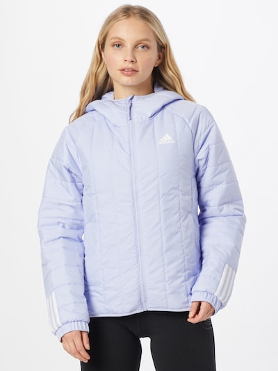 ADIDAS PERFORMANCE Sportjacke in lavendel: Frontalansicht