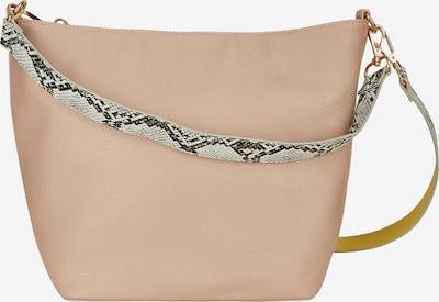 Rock Your Curves by Angelina K. Beuteltasche in beige / braun / rosa, Produktansicht