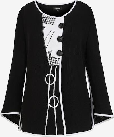 SAMMER Berlin Strickjacke in schwarz / weiß, Produktansicht
