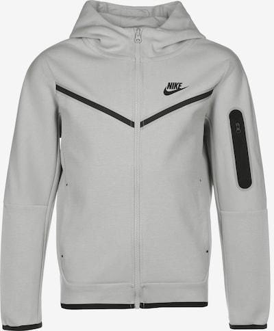 Nike Sportswear Sweatjacke 'Tech Fleece' in grau / schwarz, Produktansicht
