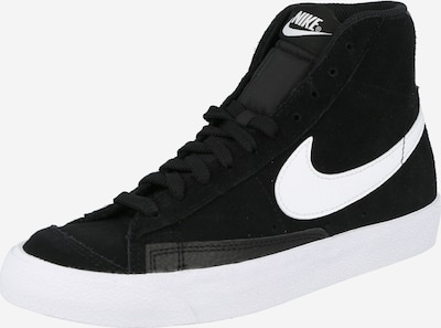 Nike Sportswear Sneaker high i sort / hvid, Produktvisning