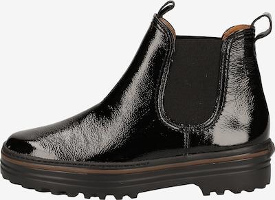 Paul Green Chelsea boots in de kleur Zwart: Vooraanzicht