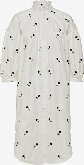 SELECTED FEMME Kleid 'Mino' in schwarz / weiß, Produktansicht