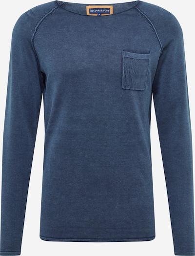COLOURS & SONS Sweater 'NOAH' in Navy / Dark blue, Item view