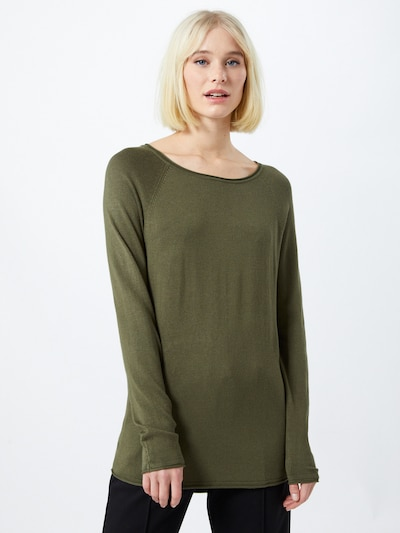 VERO MODA Sweater 'Nellie Glory' in khaki, View model