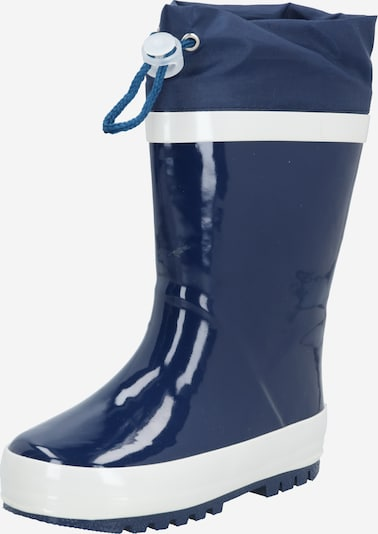 PLAYSHOES Rubber boot in Navy / White, Item view