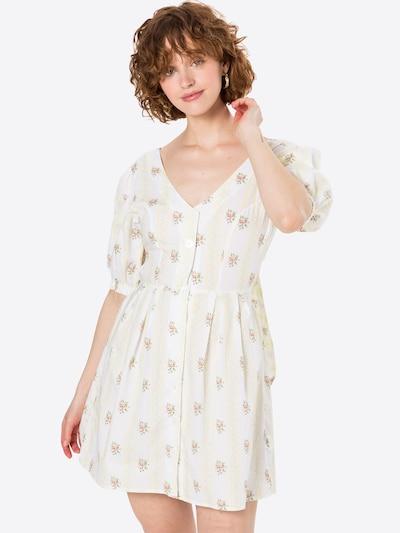 GLAMOROUS Kleid in pastellgelb / mischfarben, Modelansicht