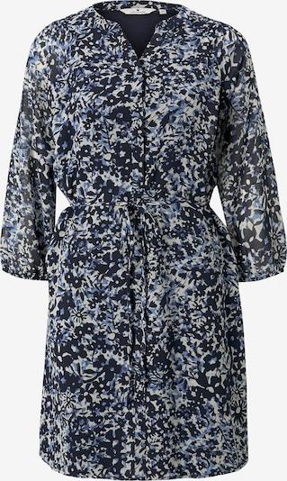 TOM TAILOR Chiffon-Kleid mit Blumenprint in blau, Produktansicht